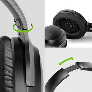 Image 5 - Avantree fones de ouvido sem fio para tv com transmissor bluetooth conjunto, plug & play, nenhum atraso da sincronização do bordo, de longo alcance, 40 horas de bateria