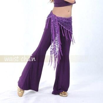 2020 Mujeres danza del vientre cintura cadena cadera bufanda lentejuelas vendaje danza cinturón 10 colores para su elección antona traversi camillo danza macàbra