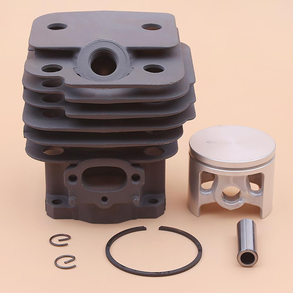 44mm Cylinder Piston Pin Ring Circlip Kit For Dolmar 111 115 PS-52 Makits DCS520 DCS 520 DCS5200I Chainsaw 027 132 020