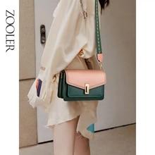 ZOOLER Genuine Leather Handbag Women Bags Designer Casual Crossbody Messenger