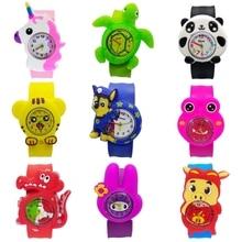 цена 2019 Hot Selling Children Watch for Girls Boys Christmas Gift Cartoon Animal Team Digital Kids Watches Student Child Baby Clock онлайн в 2017 году