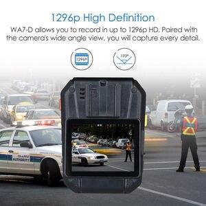 Image 2 - Boblov WA7 D 32 gb polícia câmera ambarella a7 4000 mah bateria mini comcorder dvr hd 1296 p corpo de controle remoto cam policia