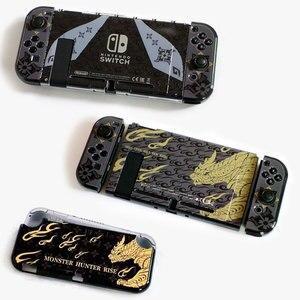 Image 5 - Monster Hunter Foldable Holder Adjustable Bracket Base NS Lite Protective Shell Hard Cover Case For Nintendo Switch Accessories