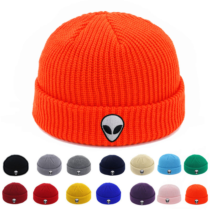 JimHappy LGBT Dabbing Skeleton Winter Warm Hats,Knit Slouchy Thick Skull Cap Black