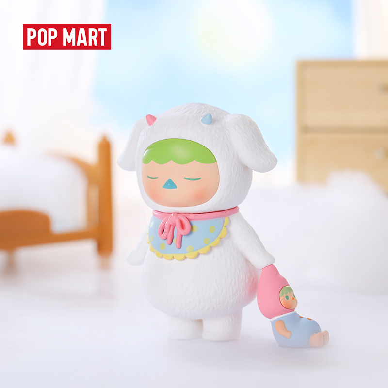 POPMART Pucky Sleeping Babies Blind Box Doll Binary Action Figure Birthday Gift Kid Toy Action Figure Birthday Gift Kid Toy