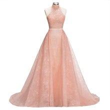 Реальные фотографии розовые вечерние платья со съемной юбкой