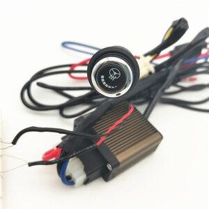 Image 3 - เส้นใยคาร์บอนไฟเบอร์Pad 6เกียร์LEDสวิทช์Universalสำหรับพวงมาลัยรถ