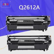 2PK Q2612A q2612 12a 2612 toner cartridge 2612a for HP LaserJet 1010 1012 1015 1020 3015 3020 3030 3050 1018 1022 1022N 1022N