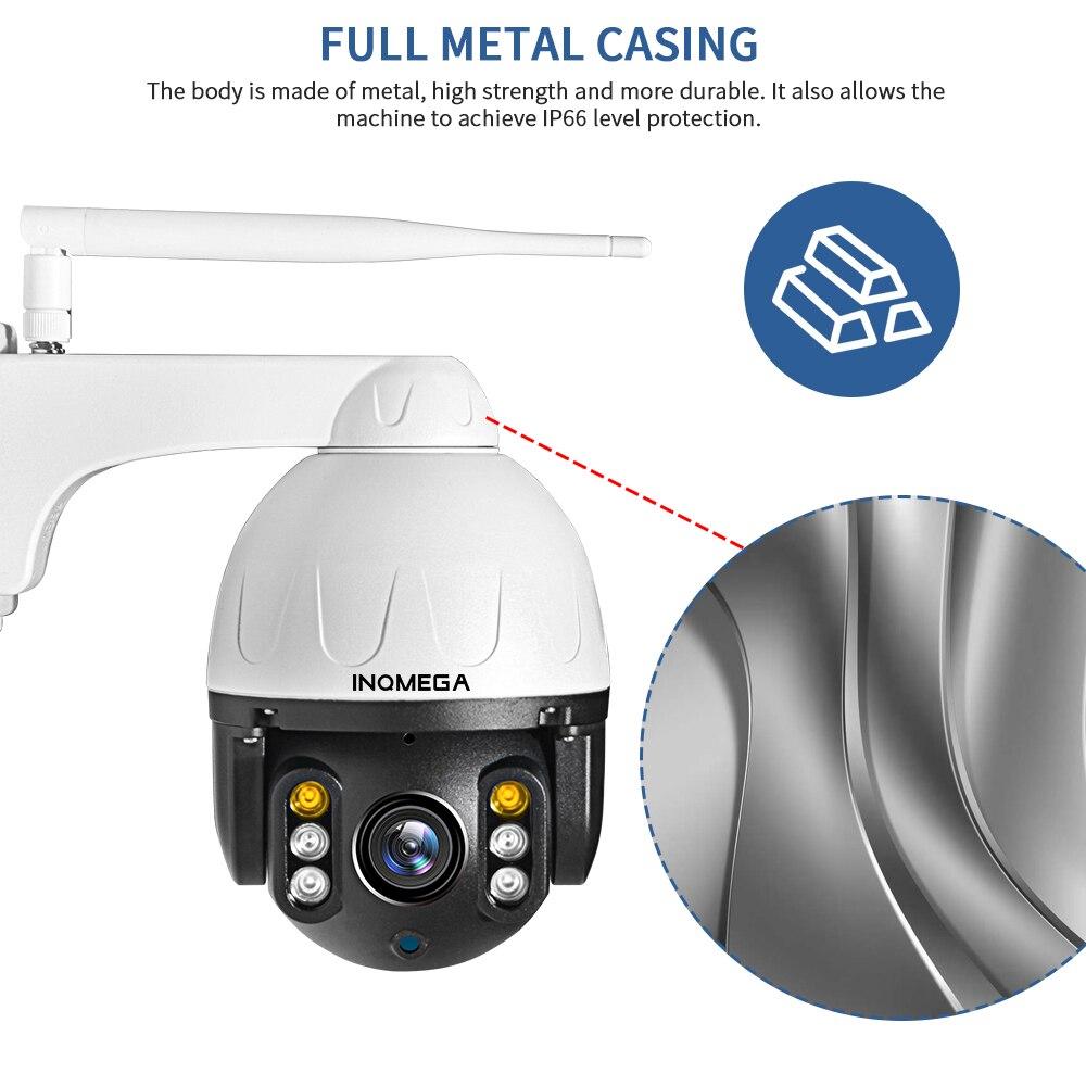 He5858d5d4eba494aaaa9d0f2054effd9a INQMEGA Cloud 1080P Outdoor PTZ IP Camera WIFI Speed Dome Auto Tracking Camera 4X Digital Zoom 2MP Onvif IR CCTV Security Camera