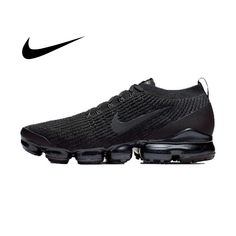 Original Nike AIR VAPORMAX FLYKNIT 3 Mens Running Shoes Mesh Breathable Lightweight Outdoor Sneakers 2019 New Arrival image