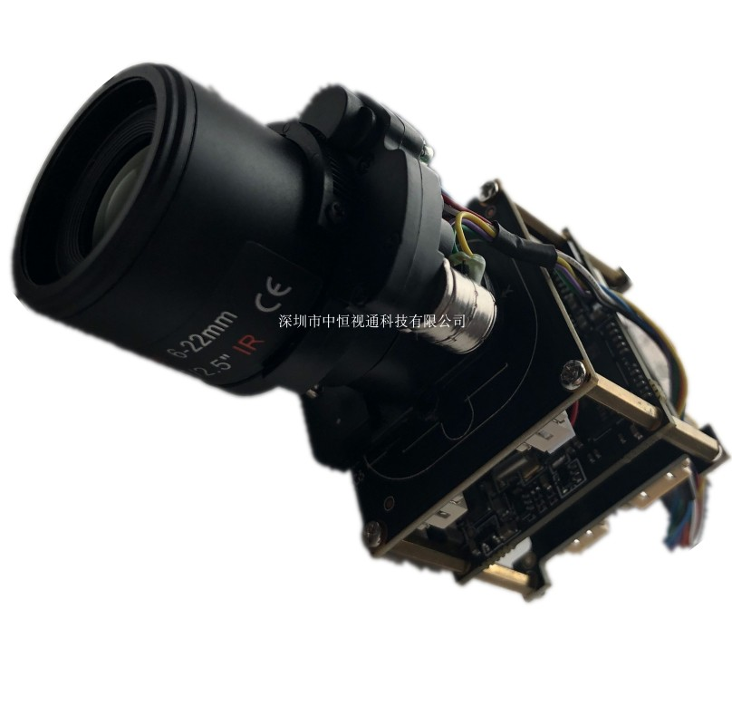 4K Face Capture Camera Module Hi3519  IMX334 IMX415 Electric Zoom Module Onvif
