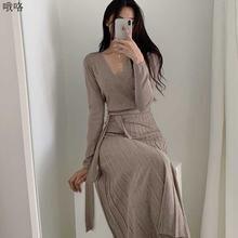 Цельнокроеное женское Плиссированное Платье корейское элегантное