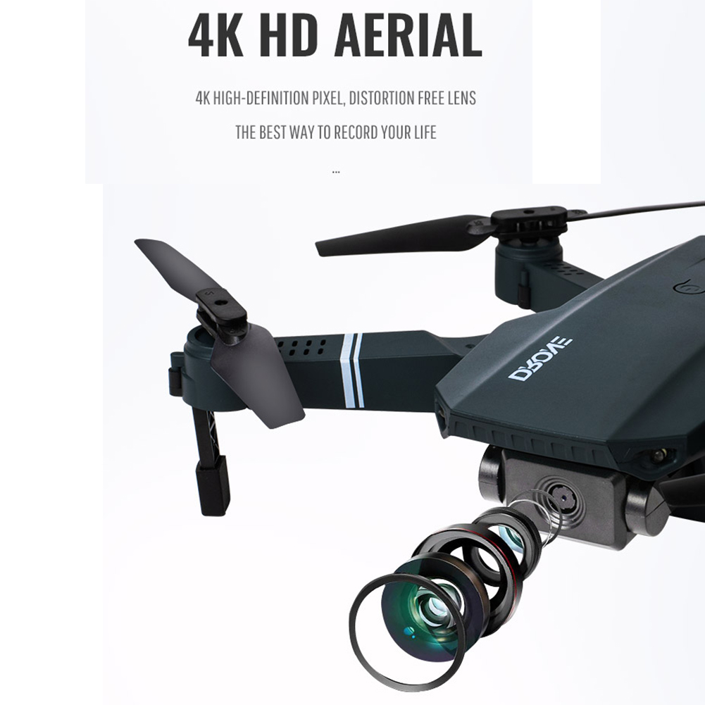 cheapest Willkey S107 Drone Quadcopter 3D 4K HD Dual Camera Visual Positioning 720P WiFi FPV Drone Height Preservation Dron Child Gift