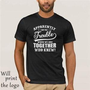 Похоже, мы беспокоимся, когда мы вместе, кто знал, что футболка