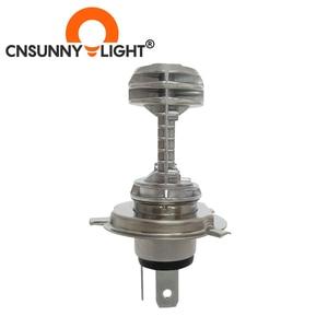 Image 4 - CNSUNNYLIGHT 1pcs 1080LM Super Bright H4 Moto LED Headlight Kit P43t HS1 BA20D H6 Motorbike Headlamp Scooter Conversion Bulbs 12