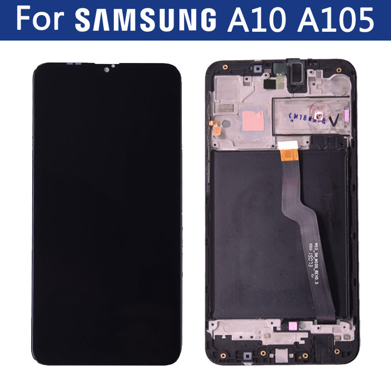 Original for <font><b>Samsung</b></font> Galaxy <font><b>A10</b></font> A105 A105F A105G/DS A105M/DS <font><b>Lcd</b></font> Display Touch Screen Digitizer Sensor Assembly Replacement image