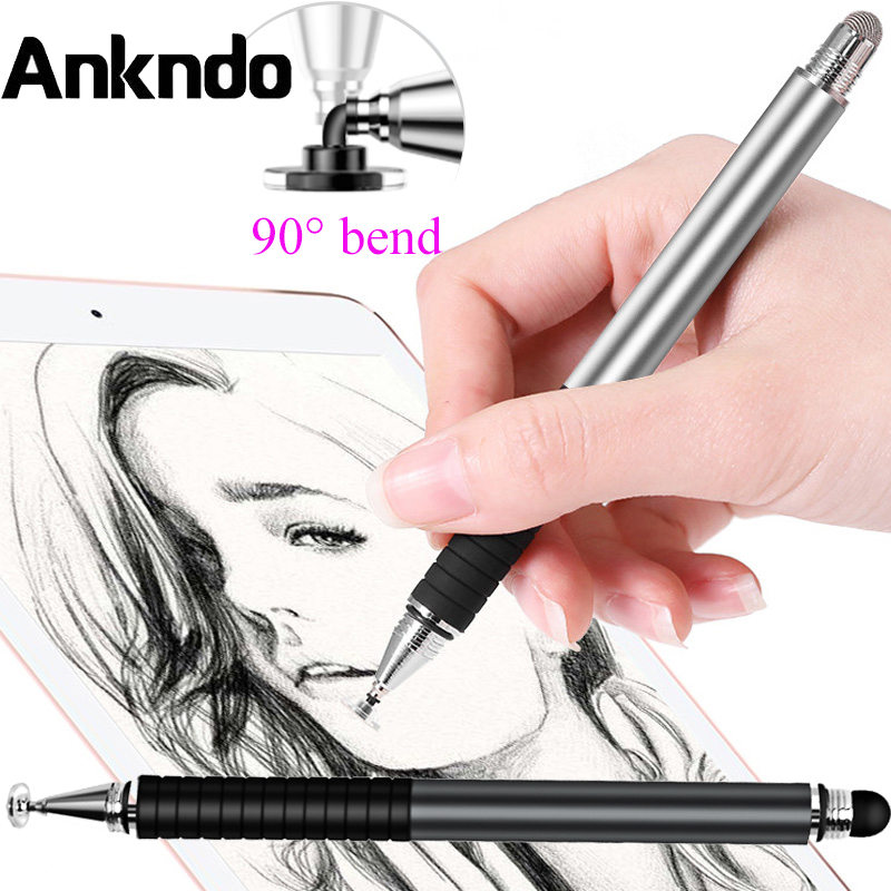 ANKNDO 2in1 Stylus Pen For Mobile Tablet Pen Smart Phone Pen Touched Screen Pen For Xiaomi Huawei Samsung Tablet Drawing Pencil|Tablet Touch Pens|…