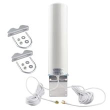 Anten WiFi 4G 3G LTE Antena 12dBi SMA Đực 5M Cáp Kép 2.4GHz Cho Huawei B315 e8372 E3372 ZTE Các Bộ Định Tuyến