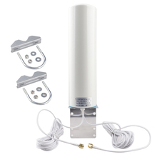 Antena WiFi 4G 3G LTE Antena 12dBi SMA męski 5m podwójny kabel 2.4GHz dla Huawei B315 E8372 E3372 ZTE routery