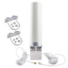 WiFi Antenna 4G 3G LTE Antena 12dBi SMA Maschio 5m Cavo Doppio 2.4GHz per Huawei B315 e8372 E3372 ZTE Router