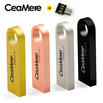 CeaMere C3 USB Flash Drive 8GB 16GB 32GB 64GB Pen Drive Pendrive USB 2 0 Flash