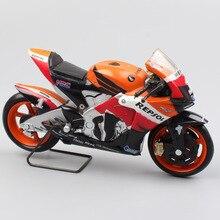1/18 шкала новая ray Honda RC212V rider № 1 Ники Хэйден 2007 moto велосипед moto rcycle гоночный gp игрушечные модели автомобилей хобби