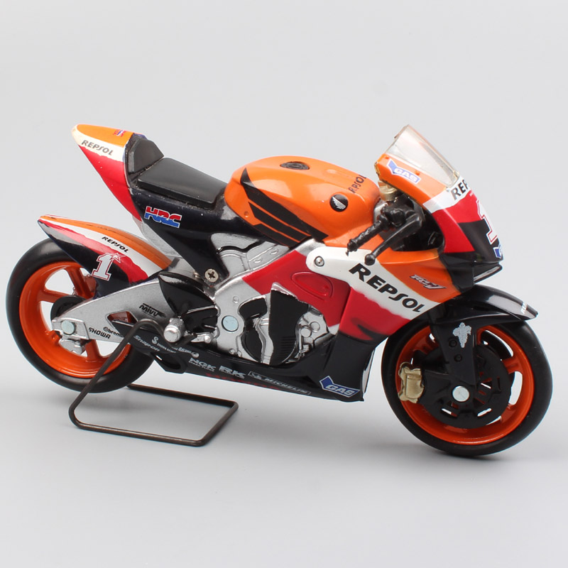 1/18 Scale New-ray Honda RC212V Rider No.1 Nicky Hayden 2007 Moto Bike Motorcycle Racing Gp Diecasts & Toy Vehicles Models Hobby