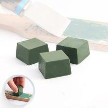 1 sztuk zielony pasta do polerowania z tlenku glinu drobny materiał ścierny zielony Buff polerowanie związek biżuteria metalowa polerowanie związek pasta ścierna