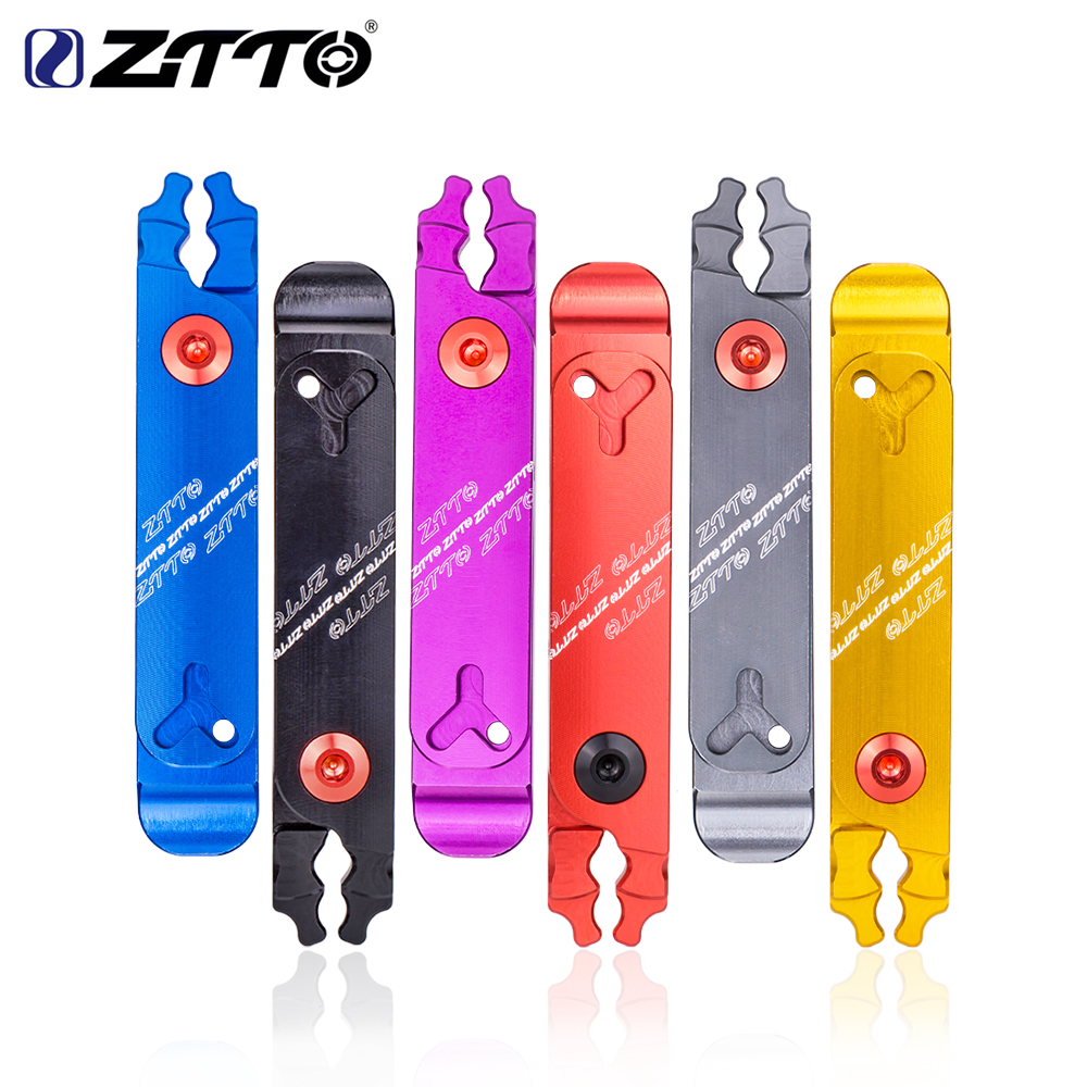 ZTTO Bicycle Master Link Pliers Valve Tool Tire Lever Missing Chain Connector Cutter Remove Install 4 in 1 Multi Function CNC