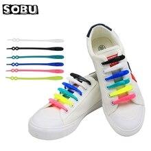 14pcs/set Silicone No Tie Shoelace Kids & Adults Safty Shoes
