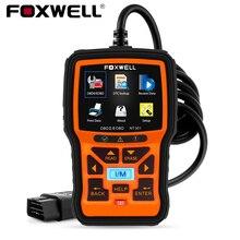 FOXWELL NT301 OBD2 Máy Quét Chuyên Nghiệp Động Cơ Lỗi Mã Có Thể EOBD ODB2 OBD 2 Ô Tô Máy Quét Xe Công Cụ Chẩn Đoán