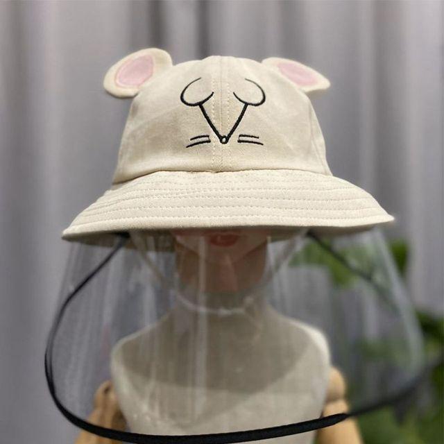 Child Anti-saliva Dust-proof Full Face Protective Cover Mask Visor Shield 634B
