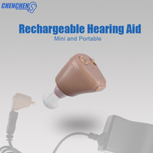 Hearing Aids Rechargeable Ear Hearing Amplifier ITE Hearing Aid For Deaf Aids Ear Care все цены
