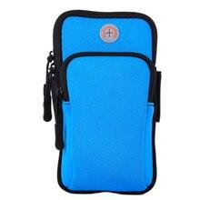 Нарукавная повязка, для ежедневного бега, для спортзала, одноцветная сумка, водонепроницаемая, для улицы, держатель для мобильного телефона, сумка, спортивный органайзер, для бега, износостойкость