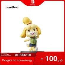 Интерактивная фигурка Nintendo | Amiibo Изабель (коллекция Super Smash Bros.)