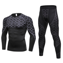 Yel Hot Male Sport Suits Quick Dry Run Jogging Clothes  Soccer Training Set Fitness Running Tracksuit for Men