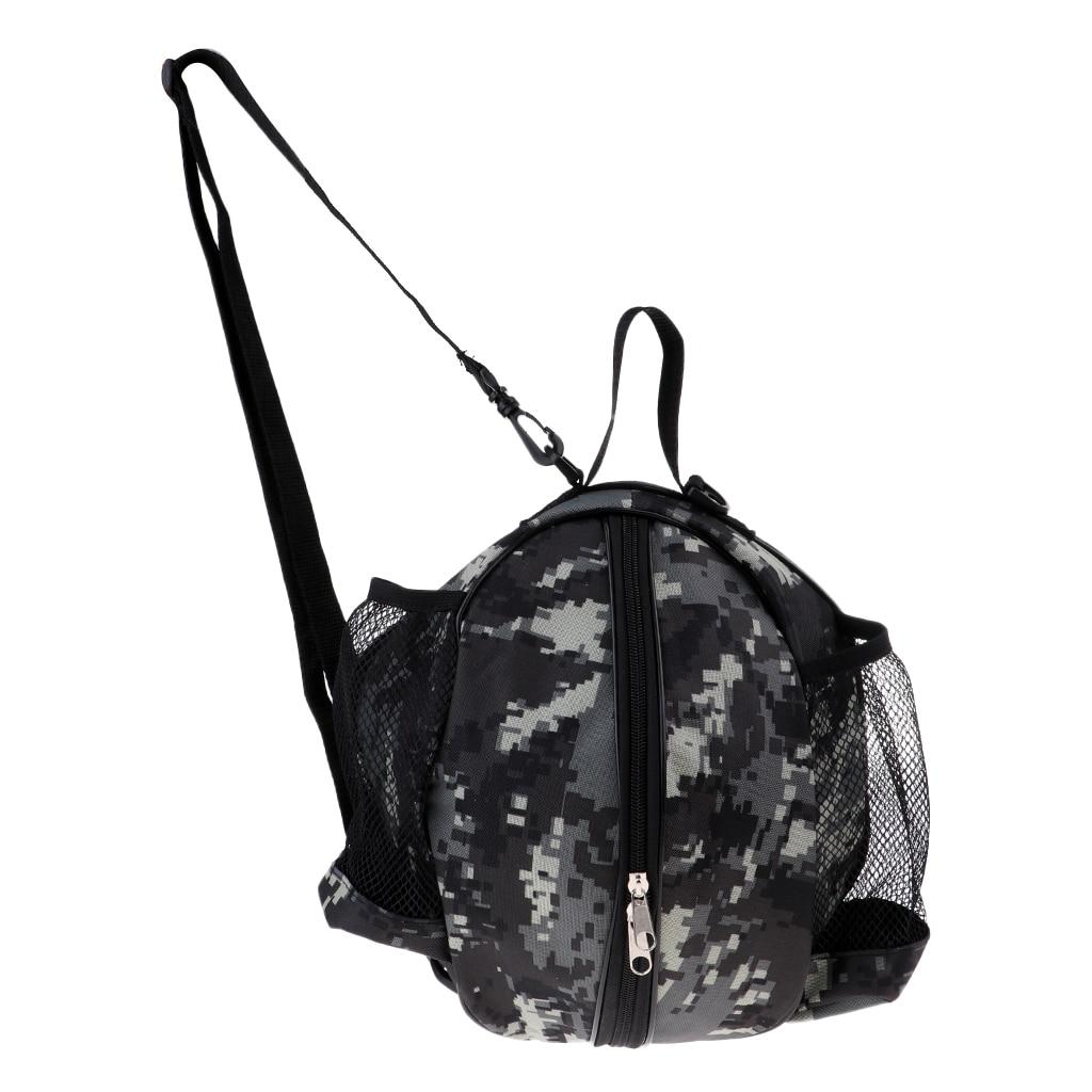 Basketball Carry Case With Adjustable Shoulder Strap For Outdoor Sports Bag