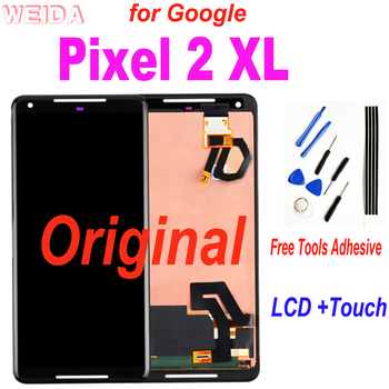 Original LCD for Google Pixel 2 XL LCD Display Touch Screen Digitizer Assembly Replacement for Google Pixel2 XL Pixel 2XL LCD