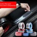 Защита углеродное волокно Стикеры 3D углеволоконная виниловая несколько Цвет Обёрточная бумага рулон пленки наклейка на машину, мотоцикл С...