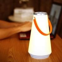 Criativo led night light casa lâmpada de mesa usb recarregável portátil sem fio interruptor toque acampamento ao ar livre luz de emergência|Luminária de mesa| |  -