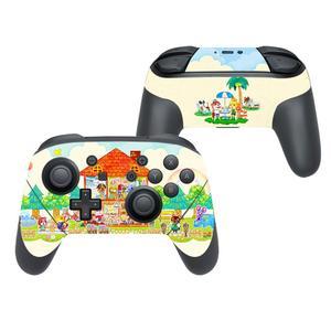 Image 5 - どうぶつの森カバーニンテンドースイッチプロコントローラーゲームパッドジョイパッドnintendスイッチプロスキンステッカー