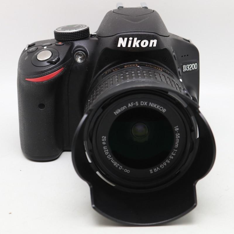Nikon D3200 24.2 MP CMOS Digital SLR camera with 18 55mm f/3.5 5.6G ED II NIKKOR Zoom Lens|DSLR Cameras|