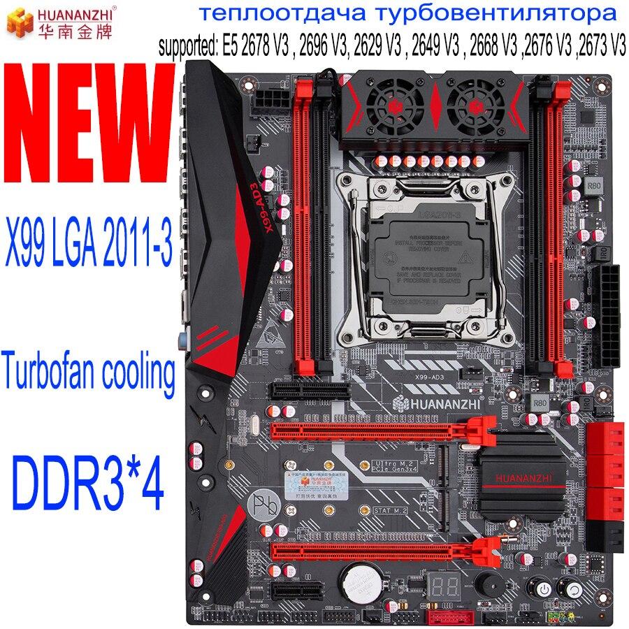 Материнская плата HUANANZHI X99 со слотом M.2 NVMe LGA2011 3 DDR3 * 4 DR3 ECC REG Channel USB 3,0 SATA 3,0 портами Материнские платы      АлиЭкспресс