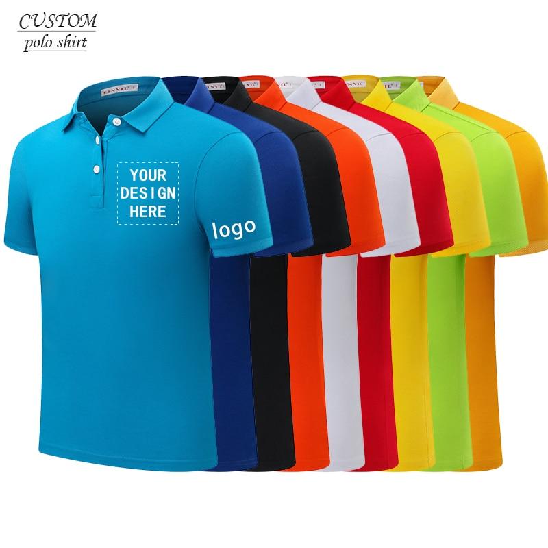 Рубашка поло с вышивкой по индивидуальному заказу унисекс, рубашка с вышивкой в деловом стиле, одноцветная рубашка, семейная рубашка-поло п...