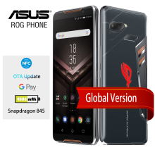 Global Version ASUS ROG Phone ZS600KL 8GB RAM 128/512 ROM Snapdragon 845  Adreno 630 NFC Android 8.1 OTA Update Gaming