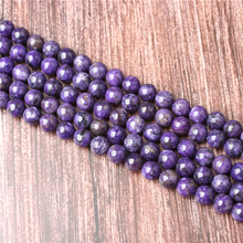 Hot Sale Natural Stone Purple Dragon Crystal Beads 15.5 Pick Size: 4 6 8 10 mm fit Diy Charms Beads Jewelry Making Accessories