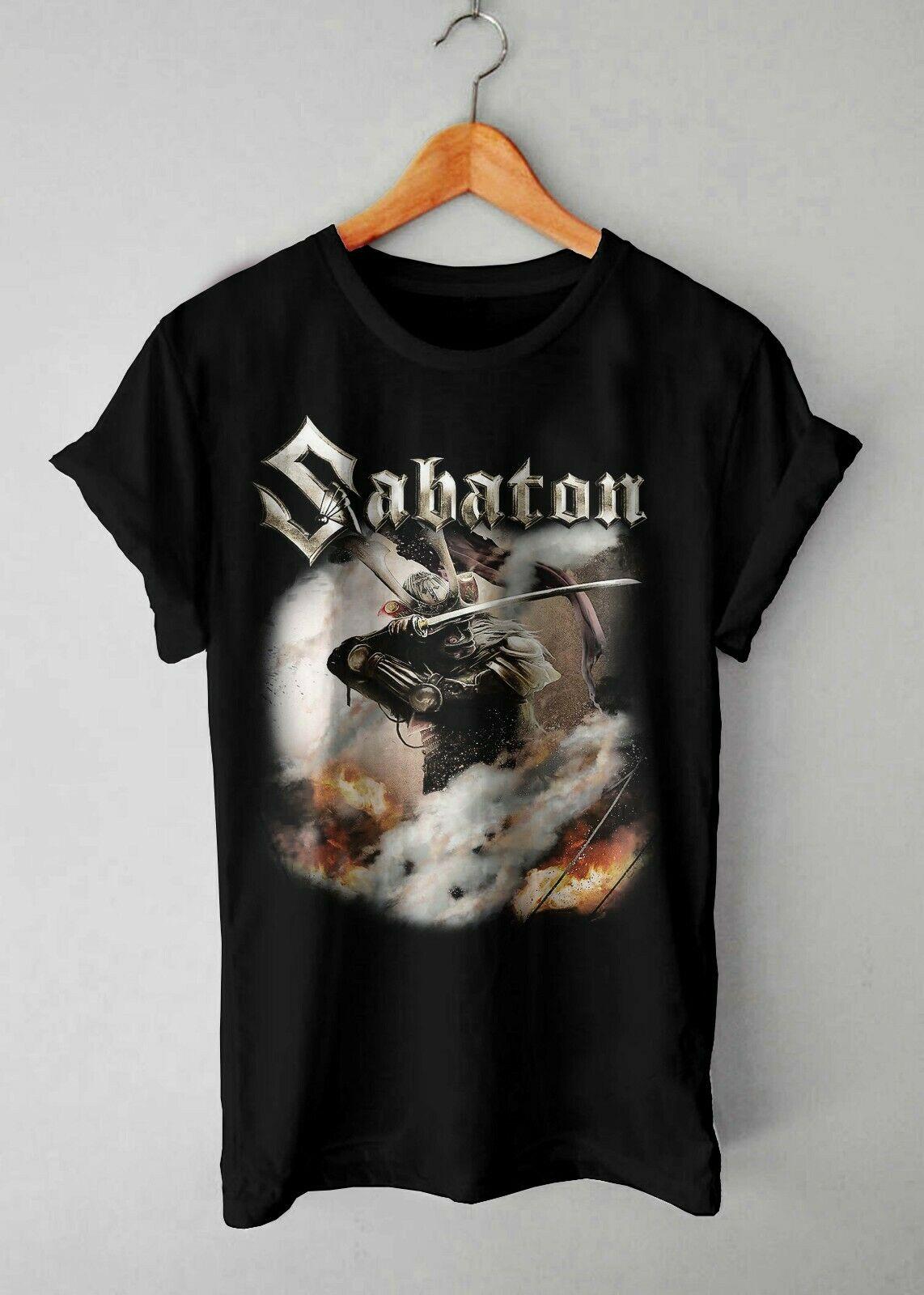 Black Shiroyama Sabaton T Shirt Vintage Size S 2Xl