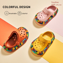 Garden-Shoes Slippers Sandal Girls Clogs Boys Kids Summer Children EVA for Cartoon Outdoors