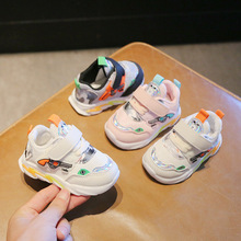 Cartoon Gun Cute Baby First Walkers High Quality Classic Toddlers 5 Stars Infant Tennis Hot Sales Baby Girls Boys Shoes