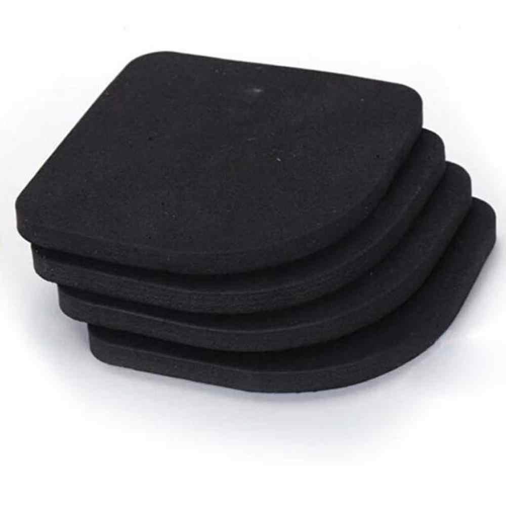 4 ピース/セットサイレントスポンジ脚防振ノンスリップ椅子デスク足マット洗濯機衝撃吸収パッド
